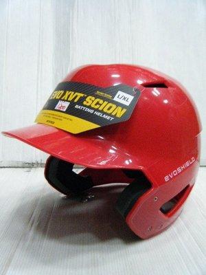 新莊新太陽 EVO XVT SCION WTV7010SC 成人 打擊 頭盔 亮面 紅 特1300
