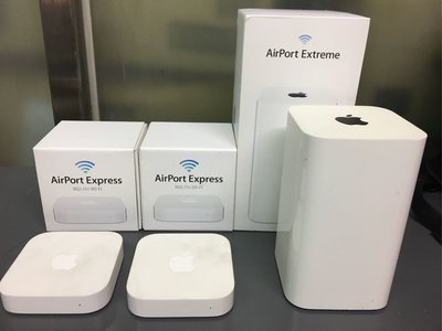 Apple AirPort Extreme 1台+airport express 2台