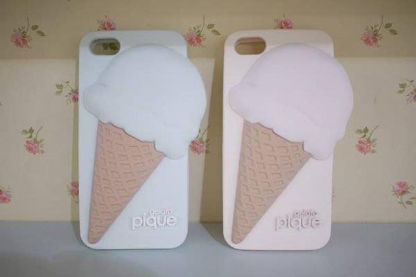 Ariel's Wish-gelato pique超Q冰淇淋i phone 5/5s軟殼手機保護殼保護套-兩色各一