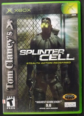 XBOX Tom Clancy's SPLINTER CELL~10EJ24~