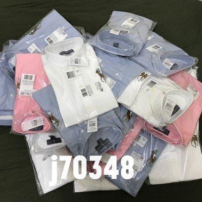 【A】限時特價 全新 Ralph Lauren 長袖 襯衫 牛津 大馬 粉紅 水藍 白 polo  青少年 M/L/XL