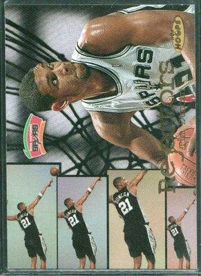 98-99 NBA HOOPS REJECTORS #4 TIM DUNCAN限量