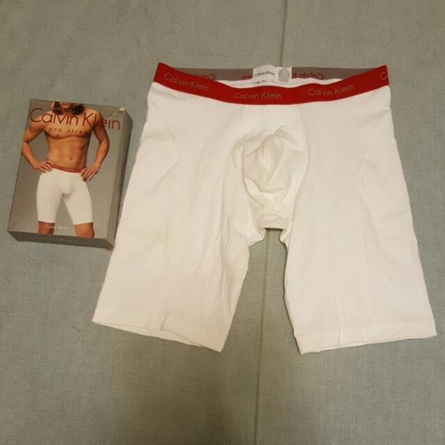 Ck正品男性運動型長版四角褲