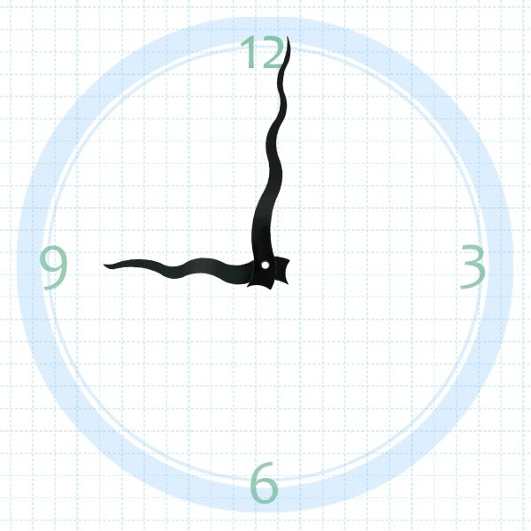 【鐘點站】T115080 分針11.5公分 時針8公分/ DIY 時鐘 掛鐘 鐘針/SUN機芯 專用指針