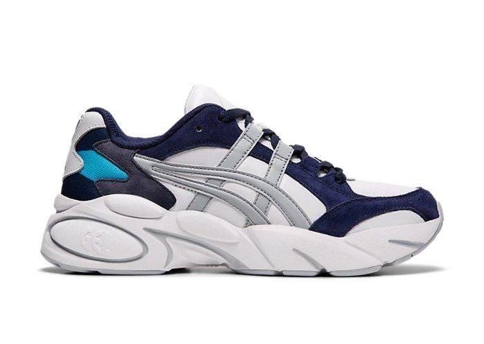 沃皮斯§ASICS TIGER GEL-BND 藍灰 復古慢跑鞋 女鞋 1022A192-100