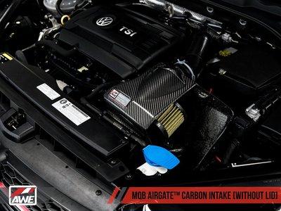 =1號倉庫= AWE Tuning 2代 AIRGATE 碳纖維進氣 無上蓋 AUDI A3 1.8L 2.0L MQB