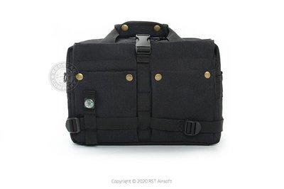 [01] Q3 多功能 特警 戰術包 黑 ( 槍盒槍箱槍包槍套槍袋提袋手拿包電腦包相機包筆電包軍規特警