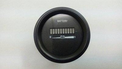 《軒廣》24V圓形電量表