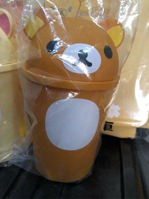 玟玟珍藏區—2018 7-11現貨拉拉熊經典立體造型垃圾桶