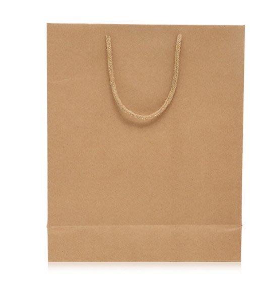 服飾包裝 包裝袋 牛皮紙袋 特大 絕非小的喔 !! 厚的 絕對 比別人厚 批發價 供應 現貨喔 100 個下標處