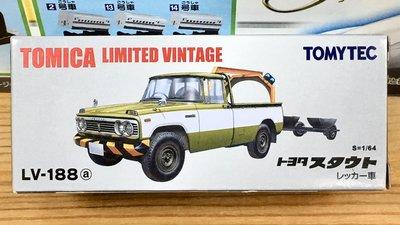 TOMYTEC LV-188a Toyota STOUT WRECKER 拖車