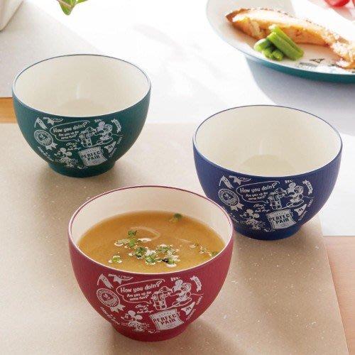 ☆Mizukinrin IN JP☆ BM日本迪士尼 日本製 彩色米奇米妮 可微波 仿木紋-汁碗