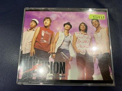 *還有唱片行*TENSION / GOTTA BE YOUR MAN CD+VCD 二手 Y16433