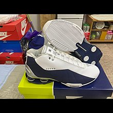 全新正品美國公司貨 NIKE SHOX BB4 奧運配色 白藍