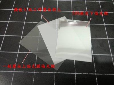 KYMCO 光陽機車 雷霆 ,機車淡化偏光片,偏光膜,上偏光片+50%下偏光 2片一組(無擴散片)