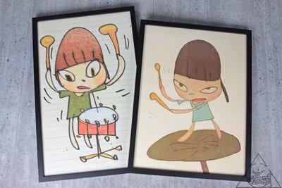 【HYDRA】Yoshitomo Nara Banging the Drum Print 奈良美智 版畫【HYAW15】