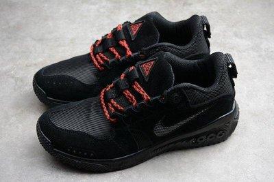 Nike ACG Dog Mountain 登山鞋 戶外 機能 黑紅 情侶款 透氣
