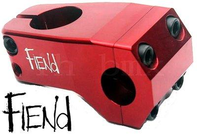 IH BMX 龍頭 FIEND Garrett Reynolds 紅色場地車地板車直排輪單速車街道車DH極限單車下坡車滑板特技車土坡車表演車特技腳踏車