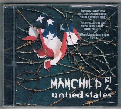 [鑫隆音樂]西洋CD-MANCHILD 同人 / untied states {TPLP707CD}/全新/免競標