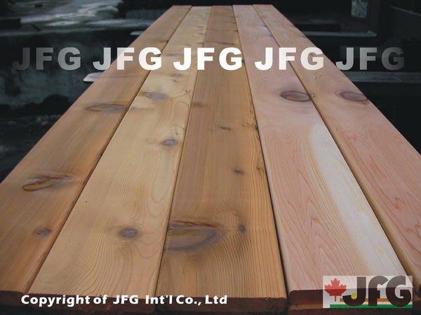 JFG 木材批發 *【WRC美西側柏板材】20x140mm DT圓角 木條 圍籬 裝潢 木工 原木 木屋木板