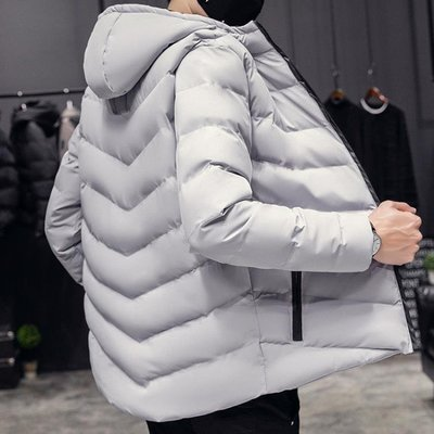 羽絨服 冬天外套男冬季棉襖子男士棉服羽絨衣服學生短款男裝