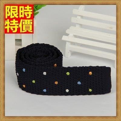 領帶 手打領帶 針織領帶 (任兩條)-平頭型休閒時尚點點男士配件9色69d11[獨家進口][米蘭精品]