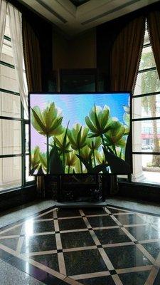 LED電視牆 億達光電  高密度200吋電視牆