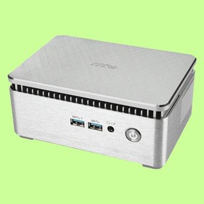 5Cgo【聯強】msi CUBI 3 SILENT S-035TW-S3865U4G 32GBSSD(銀)含稅