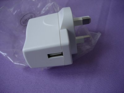 全新 USB TRAVEL CHARGER 旅遊充電器 INPUT100~240V OUTPUT 5V-1.0A