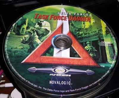 PC GAME--Delta Force三角洲特種部隊--TASK FORCE DAGGER ~二手