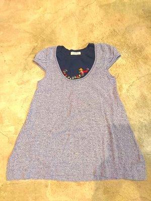 Familiar 日本品牌童裝(6歲)長版針織上衣