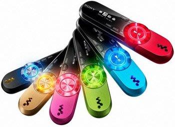 SONY NWZ-B162F 運動MP3播放器背夾子FM錄音筆 2G一鍵重低音,9成新