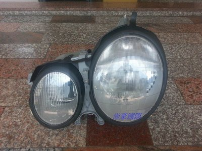 賓士 W210-99~02 歐規 原廠型大燈 另有W202 W203 W204 W124 W211 W140 W220