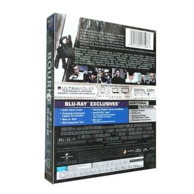 高清DVD音像店 美劇 特價正版BD藍光 諜影重重 1-4部 精裝完整版 全新未拆盒裝 兩套免運