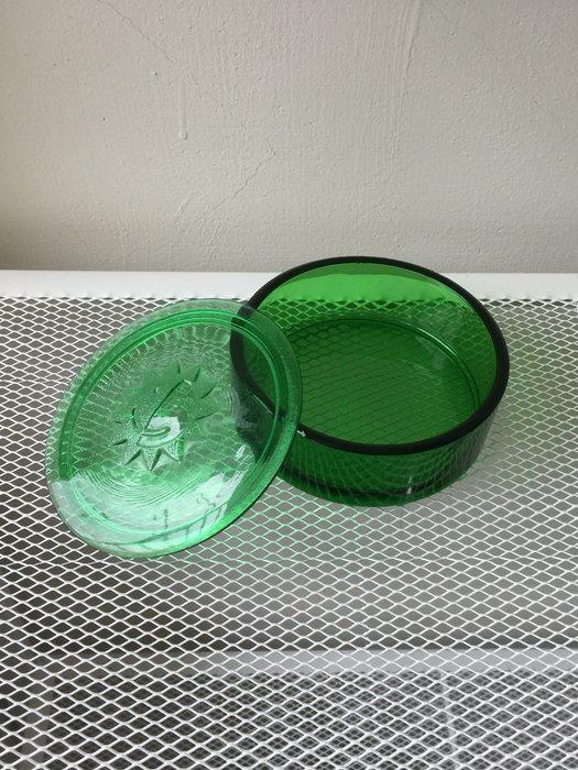 太陽 琉璃  收納盒 寶藏盒  珠寶盒  飾品盒 (綠色)