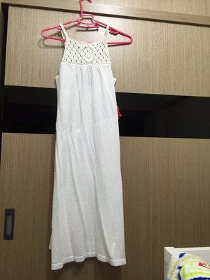 A X Armani Exchange _全新白色洋裝_滿滿的度假風情