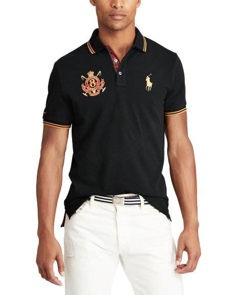 Polo by Ralph Lauren 男款大馬標翻領短袖T恤 百搭時尚潮男裝圖案POLO衫 選型號 全館免運