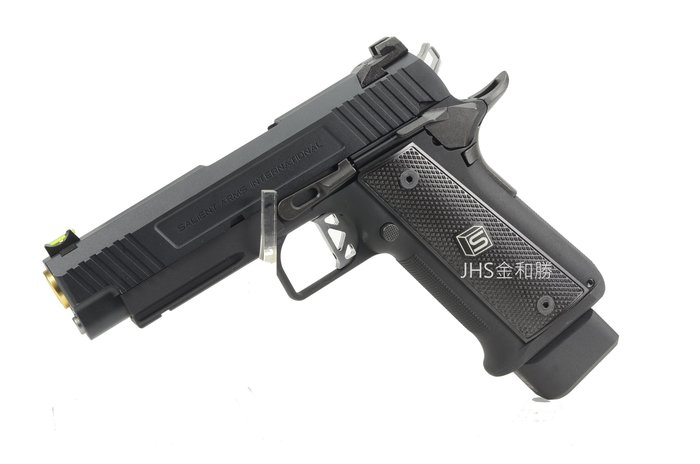 JHS((金和勝 槍店))免運費 WE SA-DS-0200 HI-CAPA 4.3-SAI黑 瓦斯手槍 4845