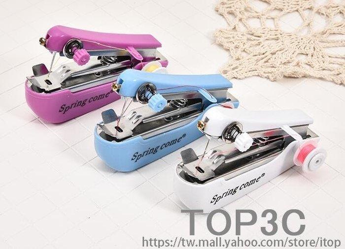 家用手持便攜式小巧迷你縫紉機 小型多功能手動封口機微型縫衣機