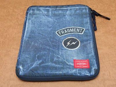 fragment design x HEAD PORTER iPad Case 印刷 丹寧 貼布 閃電 Air Pro