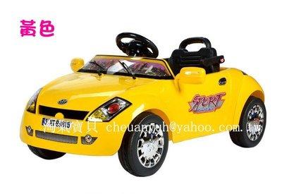 【淘氣寶貝】99815童車百萬跑車 迷你跑車敞篷-遙控電動車可外接MP3兒童電動車仿真跑車出清特價^0^