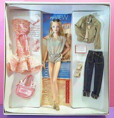 【Mika】粉標收藏型芭比娃娃 On Location: Barcelona 巴塞隆納(盒損)*現貨 Barbie