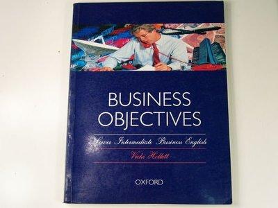 【懶得出門二手書】《Business Objectives》Oxford University Press, USA│八成新