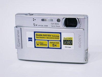 *羅浮工作室=免郵資,功能保固*SONY DSC-T100 數位相機 (銀)*P2*