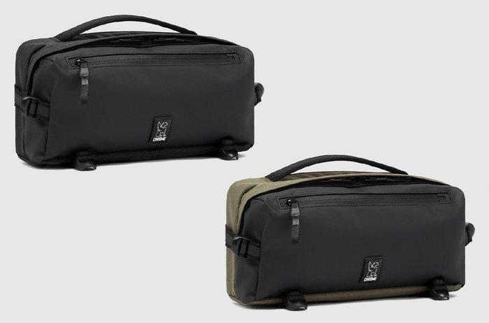 { POISON } CHROME KOVAC SLING BAG 可收納式背帶 單肩式隨身包 腰包