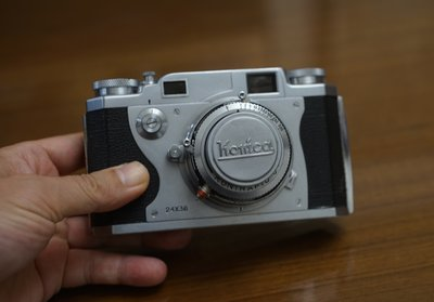 【售】很美經典RF旁軸相機 KONICA II 50mm f2.4  1218