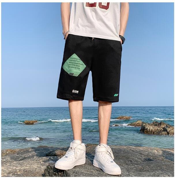 FINDSENSE X 休閒工裝短褲 多口袋 短褲多袋 速幹 運動 男式 短褲