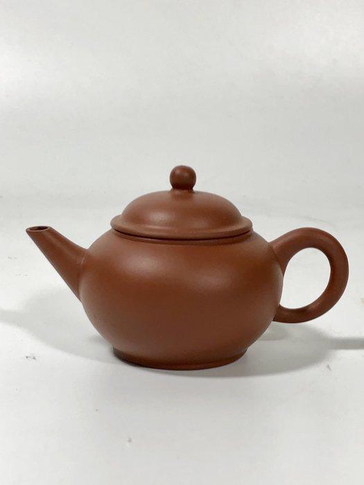 1970年代標準壺水平小罐紅泥 可以堂普洱茶苑A2
