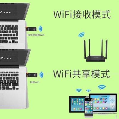5Cgo【權宇】睿因USB 3.0 wifi接收及發射兩用高速AC 867M 2.4G+5G雙頻無線網卡 白黑兩色 含稅