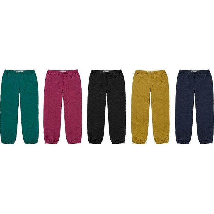 【紐約范特西】預購 FW19 Supreme Paneled Warm Up Pant 工作褲
